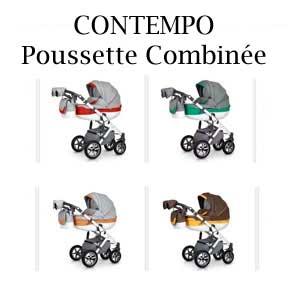 CONTEMPO Poussette Combinée