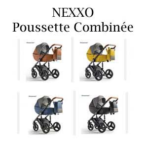 NEXXO Poussette Combinée