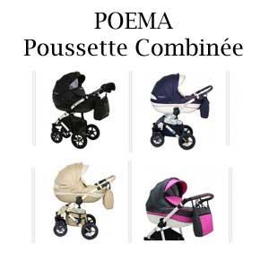 POEMA Poussette Combinée
