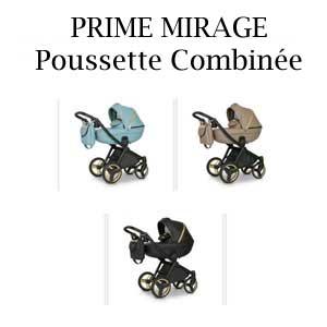 PRIME MIRAGE Poussette Combinée