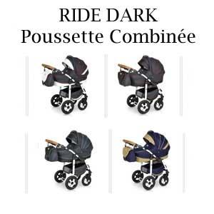 RIDE DARK Poussette Combinée