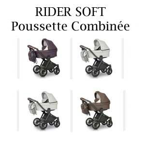 RIDER SOFT Poussette Combinée