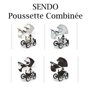 SENDO Poussette Combinée